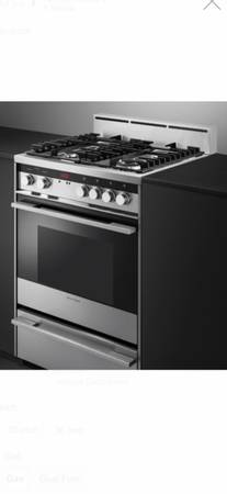 Fisher Paykel OR24SDMBGX2N Современная серия 24-дюймовый автономный газ