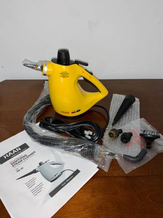 HAAN Deluxe Personal Sanitizing Steam Cleaner